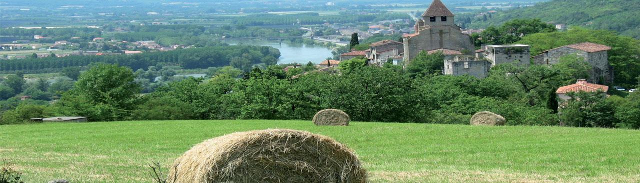 Le Lot-et-Garonne agricole - Village de Saint-Hilaire de Lusignan